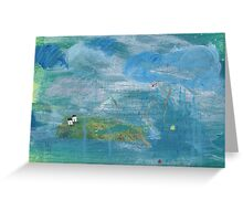 Four winds Greeting Card
