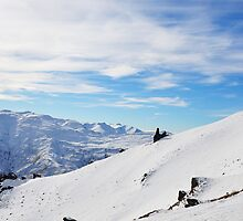 Sunshine on the Peak, Coronet Peak, NZ by Chris Jones