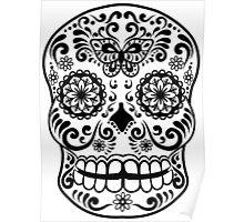 Calavera Skull IX Poster
