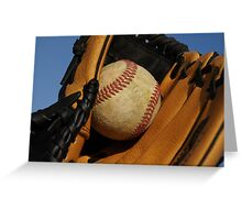 Catch that ball Greeting Card