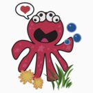Octopus in love by Maria  Gonzalez