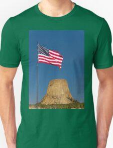 Sunrise over Devils Tower .2 T-Shirt