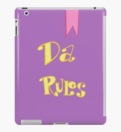 Da Rules iPad Case/Skin