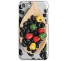 Black Beans & Bell Peppers iPhone Case/Skin