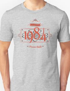 Since 1984 (Red&Black) T-Shirt