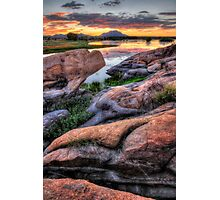 Rock Waves Photographic Print