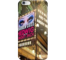 Darren is Hedwig - Marquee. iPhone Case/Skin