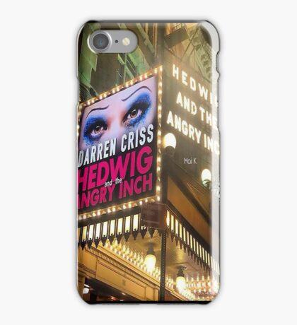 Darren is Hedwig - Marquee. iPhone Case/Skin