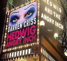 Darren is Hedwig - Marquee. by Mai-K