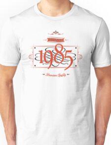 Since 1985 (Red&Black) Unisex T-Shirt