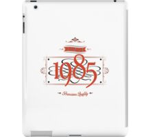 Since 1985 (Red&Black) iPad Case/Skin
