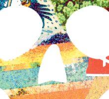 Summer Time Skull Sticker