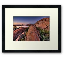 Up and Out Framed Print
