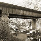John Forrest - Railway Bridge - Black & White by Stephen Horton