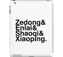 CCP Helvetica List iPad Case/Skin