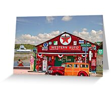 Western Auto Parker,Florida Greeting Card