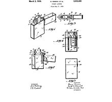 Lighter patent from 1934 Photographic Print