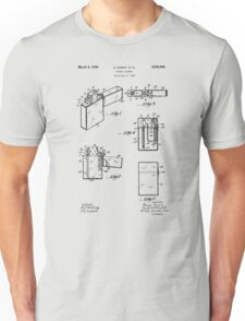 Lighter patent from 1934 Unisex T-Shirt