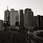Melbourne City Skyline by Stephen Horton