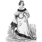 """""""Blanch"""" engraving after Gigoux, Gil Blas 1835 by OldeArte"""