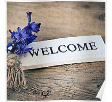 Welcome Door Sign Poster