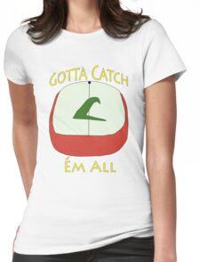 Pokèmon Hat - Ash Ketchum Womens Fitted T-Shirt