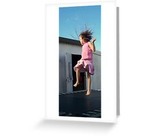 Walking on Sunshine Greeting Card