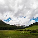 Rolling Hills and Majestic Mountains by Candy Gemmill