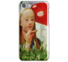 Alice in Wonderland by Sarah Kirk iPhone Case/Skin