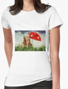 Alice in Wonderland by Sarah Kirk Womens Fitted T-Shirt