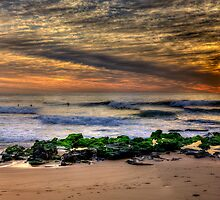 Glory - Warriewood Beach , Sydney (30 Exposure HDR Panoramic) The HDR Experience  by Philip Johnson