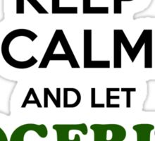 Keep Calm and Let ROGGENBURG Handle it Sticker