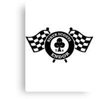 Ace Biker Scout Scout trooper Canvas Print
