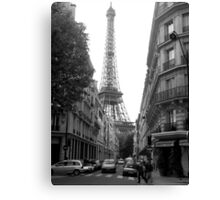 Around The Corner - Paris Canvas Print