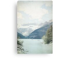 Lake Louise Gateway - Alberta, Canada Metal Print