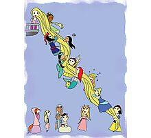 Rapunzel Rapunzel Let Down Your Hair Photographic Print