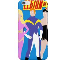 Legion of Super-Heroes Minimal 1 iPhone Case/Skin