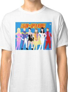 Legion of Super-Heroes Minimal 1 Classic T-Shirt