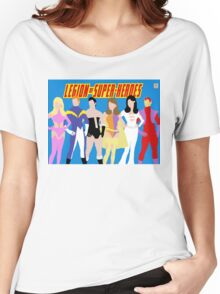 Legion of Super-Heroes Minimal 1 Women's Relaxed Fit T-Shirt