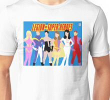Legion of Super-Heroes Minimal 1 Unisex T-Shirt