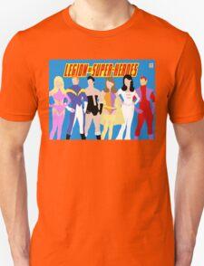 Legion of Super-Heroes Minimal 1 Unisex T-Shirt