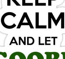 Keep Calm and Let ROGRIGEZ Handle it Sticker