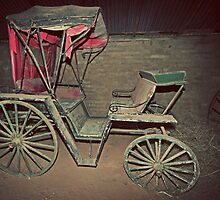 Rustic, Red, Renovation Required, Buggy by bazcelt