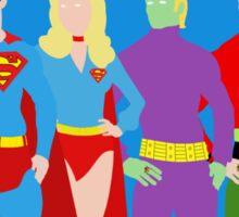 Legion of Super-Heroes Minimal 2 Sticker