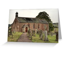 Morebattle Kirk Greeting Card