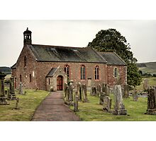 Morebattle Kirk Photographic Print