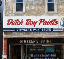 Flemington, NJ - Paint Shop Sticker