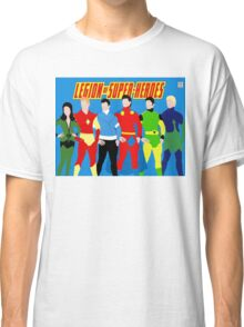 Legion of Super-Heroes Minimal 3 Classic T-Shirt