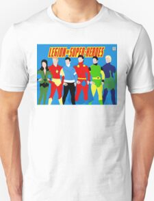 Legion of Super-Heroes Minimal 3 Unisex T-Shirt