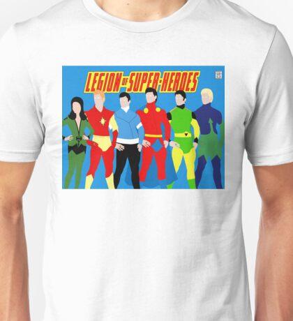 Legion of Super-Heroes Minimal 3 Unisex T-Shirt